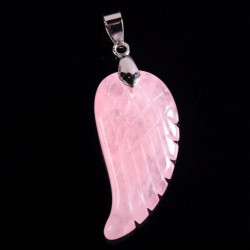 Angel Wing Hanger Rozenkwarts