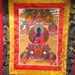 Thangka Medicijn Boeddha