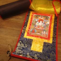Thangka Witte Tara