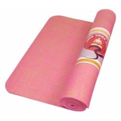 Yogamat Jute (roze)