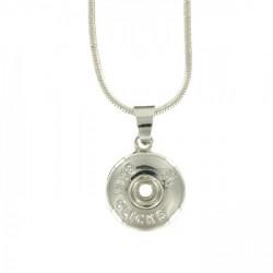 Bali Clicks Zilveren Ketting