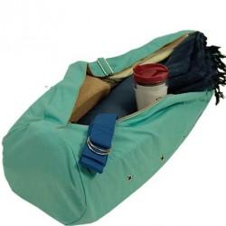 Yogamat Tas Canvas Turquoise