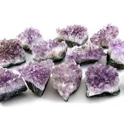 Amethist (ruw, kristalcluster)