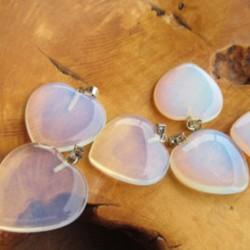 Hangertje Opaliet Hart