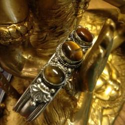 Armband Tijgeroog uit Nepal