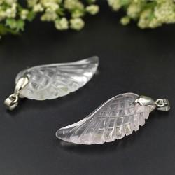"Angel Wing Hanger Bergkristal ""SPIRITUALITEIT"""