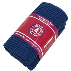Yoga handdoek - PVC antislip - paars