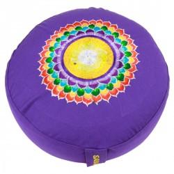 Meditatiekussen 7e Chakra (Violet)