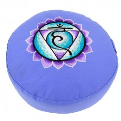 Meditatiekussen 5e Chakra (Blauw)