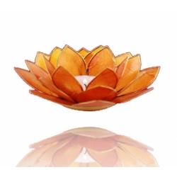 Sfeerlicht Oranje Lotus