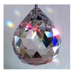 """Feng Shui Regenboogkristal """"4 CM BOL"""""""