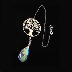 """Feng Shui Regenboogkristal """"TREE OF LIFE"""""""