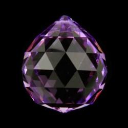 """Feng Shui Regenboogkristal """"4 CM BOL VIOLET"""""""