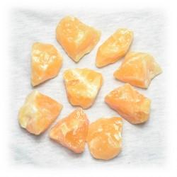 Oranje calciet (ruw)