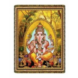 "Wand- of vloerkleed ""GANESHA"""
