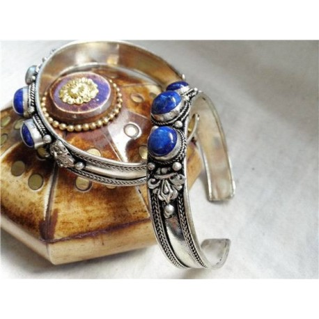 "Armband Lapis Lazuli ""EIGENWAARDE"""