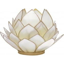 Sfeerlicht Witte Lotus XL