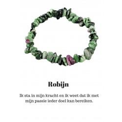 Armband Robijn