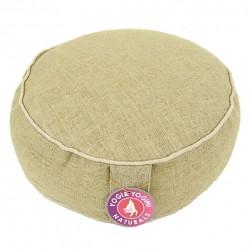Meditatiekussen 100% ruwe zijde paars