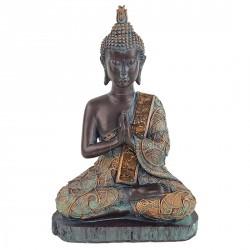 """Thaise Boeddha zittend """"NAMASTE"""""""
