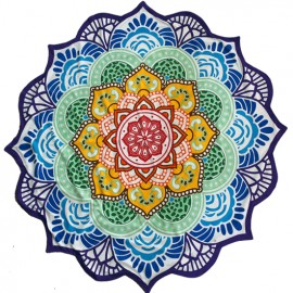 "Meditatie- of Yogakleed ""CHAKRA MANDALA"""