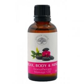 "Massage olie ""RELAX BODY & MIND"""