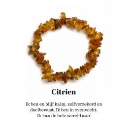 Armband Citrien