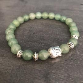Boeddha armband aventurijn