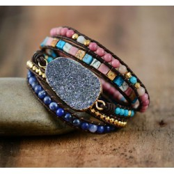 "Armband Druzy Kwarts ""MAGIC"""