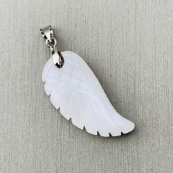 Angel Wing Hanger Witte Jade