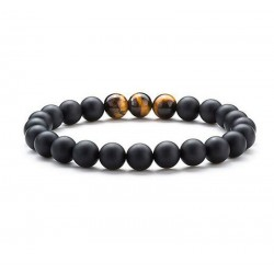 "Armband Lavasteen ""BODY & MIND"""