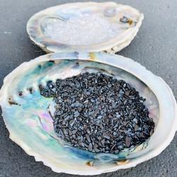 Abalone Yin Yang Ontlaad & Oplaad Set