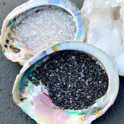 Abalone Yin Ying Ontlaad & Oplaad Set