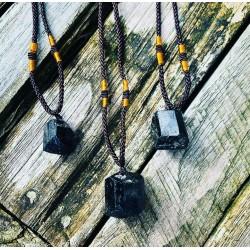 Zwarte Toermalijn hanger