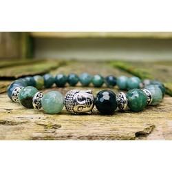 Boeddha armband mosagaat