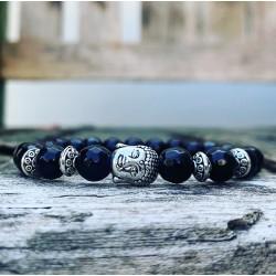 Boeddha armband onyx