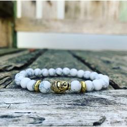 "Boeddha armband howliet ""VREDE"""