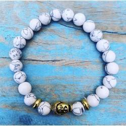 Boeddha armband howliet