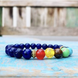 "Armband Lapis Lazuli ""DURVEN & DOEN"""