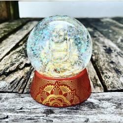 Glazen Glitterbol
