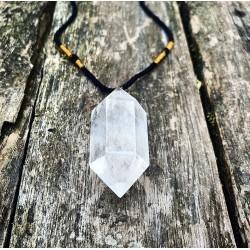 Bergkristal Dubbeleinder hanger