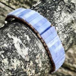 Armband Chalcedoon