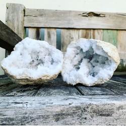 Kwarts Geode Set