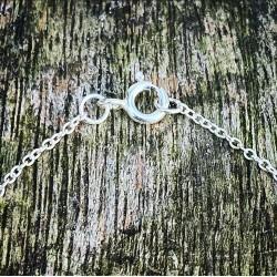 Zilveren ketting 45/50 cm
