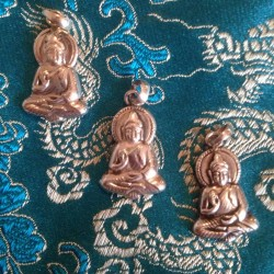 Zilveren Boeddha hangertje