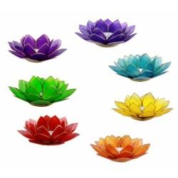 Capiz Lotus Chakra Sfeerlichten Groot