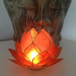 Sfeerlicht Oranje Lotus XL