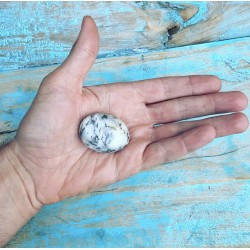 "Knuffelsteen Dendriet Opaal ""Overvloed"""