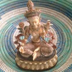 Beeld Boeddhistische godin Tara